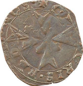 Italie, Castiglione (marquisat de), Rodolfo Gonzaga, parpaiolle, s.d. (1586-1593) Castiglione delle stiviere