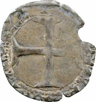 Charles VII, double tournois, atelier indéterminé