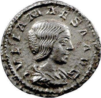 Julia Maesa, denier, Rome, 220-222