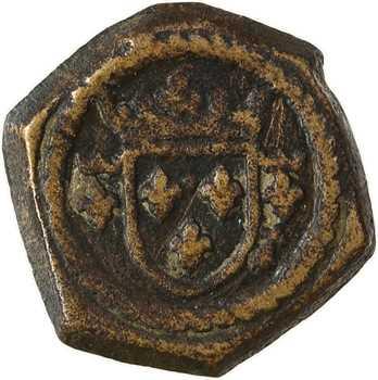 Charles VII-Louis XI, poids monétaire du demi-écu d'or à la couronne, s.d. (avant 1475)