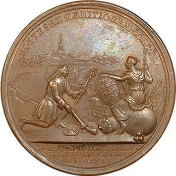 Royaume-Uni, Anne, Prise de Bouchain par Marlborough, 1711