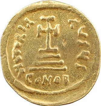 Héraclius et Héraclius Constantin, solidus, Constantinople, 6e officine, 613-629