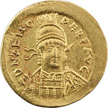 Zénon, solidus, Constantinople, 2e officine, 476-491
