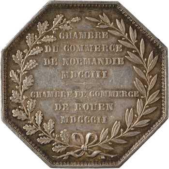 Second Empire, Chambre de Commerce de Rouen, 1802 (post.) Paris