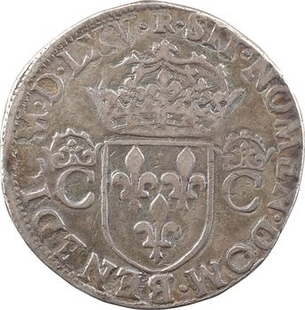 Charles IX, teston 2e type, 1565 Toulouse