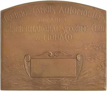 Monaco, Monte-Carlo, meeting de canots automobiles par Szirmaï, 1911-1912 Paris