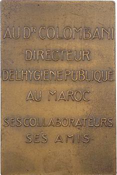 Maroc, Docteur Colombani directeur de l'Hygiène publique, par de Hérain, 1934 Paris