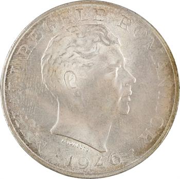 Roumanie, Michel Ier, 100.000 lei, 1946