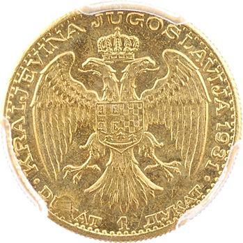 Yougoslavie (royaume de), Alexandre Ier, ducat, 1931 Belgrade, PCGS MS61