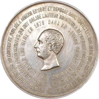Amiens : médaille de G. de Forceville, vers 1881