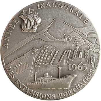 Baron (R. B.) : Année inaugurale des extensions portuaires de Dunkerque, 1963 Paris