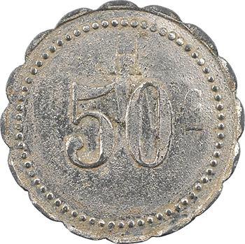 Mauritanie, Port-Étienne, 50 centimes, SIGP, 1920