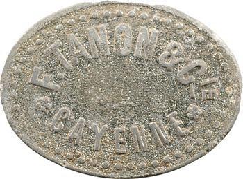 Guyane, Cayenne, F. Tanon et Cie, 50 centimes, s.d. (c.1928)