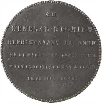 IIe République, monument élevé à Lille à la mémoire du Général Négrier, 1849 Lille