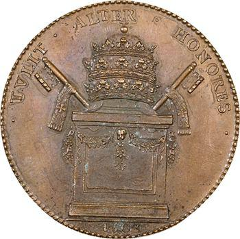 Georges d'Amboise, médaille, 1503 (refrappe XIXe s.)