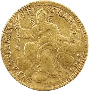 Vatican, Clément XIII, sequin d'or, 1766 Rome
