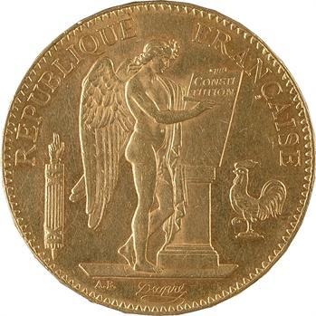 IIIe République, 100 francs Génie, 1881 Paris