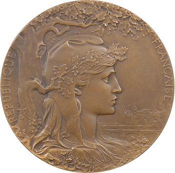 Chaplain (J.-C.) : Exposition universelle internationale, Mlle Ligonnet, 1900 Paris
