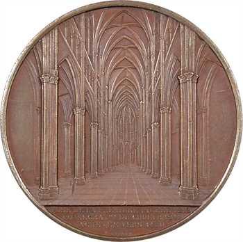 Second Empire, la cathédrale de Reims, par Wiener, s.d. Paris