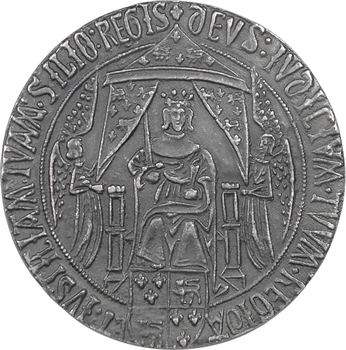 Moyen-Âge : Aquitaine, Charles d'Aquitaine, fonte moderne