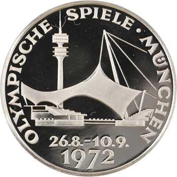 Allemagne, médaille des Jeux Olympiques de Munich, 1972