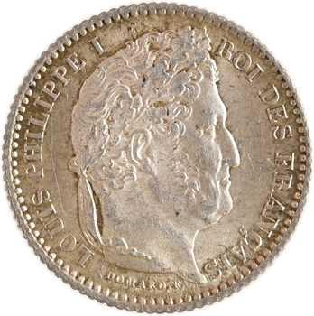 Louis-Philippe Ier, 25 centimes, 1845 Rouen