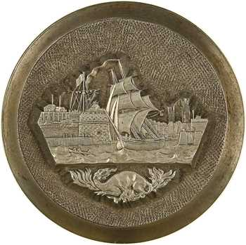 Second Empire, matrice pour coin de revers, la Chambre de Commerce du Havre de Grâce, par Barre, s.d. Paris