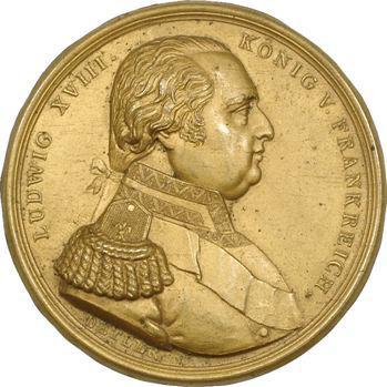 Louis XVIII, cliché uniface, par Detler, s.d. Vienne ?