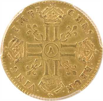 Louis XIV, louis d'or à la tête nue 2e type, 1670 Paris, PCGS AU58