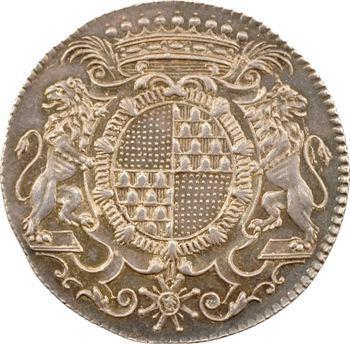 Lyonnais, Lyon, Camille Perrichon, secrétaire de la ville, jeton anépigraphe, s.d. (c.1757) Paris