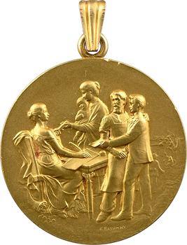 Rasumny (F.) : médaille d'or du Conseil d'administration de la Caisse d'épargne des Andelys, 1918 Paris