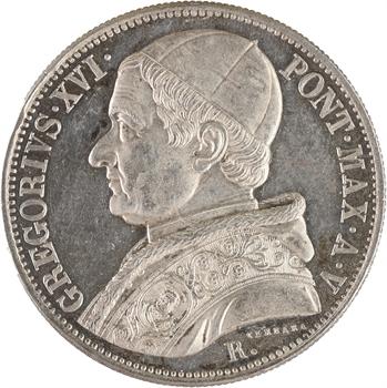 Vatican, Grégoire XVI, scudo, 1845/XV Rome