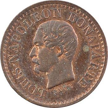 IIe République, Louis-Napoléon Bonaparte, essai de 1 centime, 1851 Paris