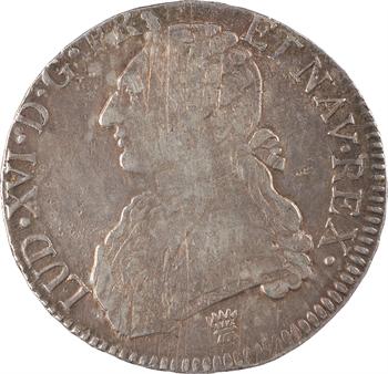 Louis XVI, écu aux rameaux d'olivier, 1776/5 Limoges