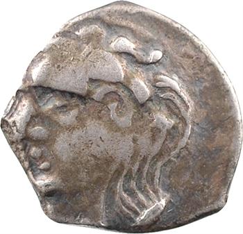 Volques Tectosages, drachme à la tête cubiste romanisée, c.121-52 av. J.-C
