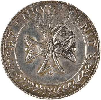 Ancien Régime, denier à épouser, en argent, s.d