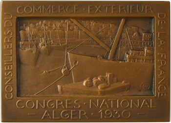 Algérie, Congrès national des conseillers du commerce extérieur, 1930 Paris