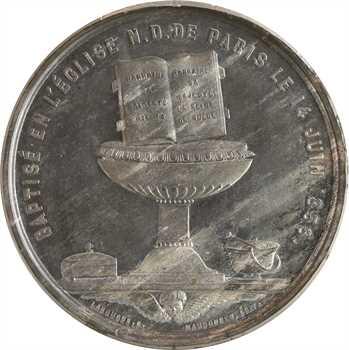 Second Empire, baptême du Prince Impérial le 14 juin, 1856 Paris