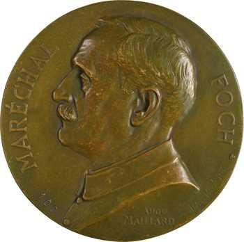 Maillard (A.) : le maréchal Foch, fonte N° 100, s.d. Paris Art