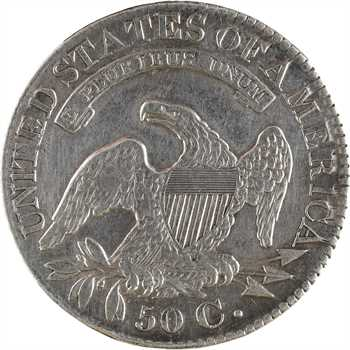 États-Unis, 50 cents ou demi-dollar Capped bust, 1828 Philadelphie