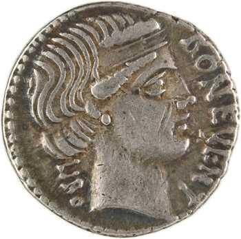 Scribonia, denier, Rome, 62 av. J.-C