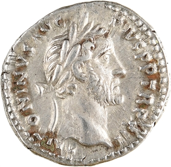 Antonin le Pieux, denier, Rome, 145-161