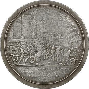Constitution, la prise de la Bastille, 1789 (postérieure) Paris