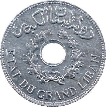 Liban, 1 piastre, 1940 Paris