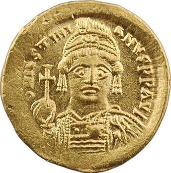 Justinien Ier, solidus, Constantinople, 2e officine, 527-565