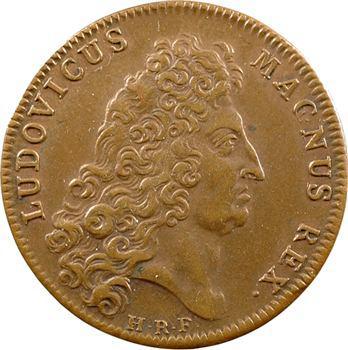 Louis XIV, jeton au revers à l'Amour, s.d