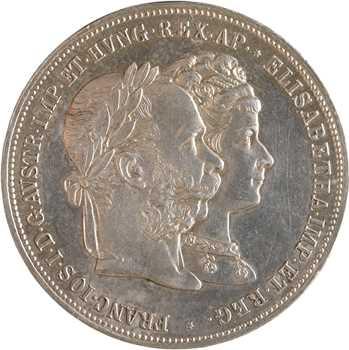 Autriche, François-Joseph Ier, 2 florins, 1879 Vienne