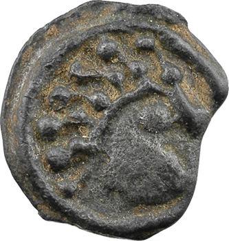 Sénons, potin dit à la tête d'indien, c.52 av. J.-C.