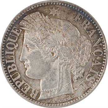 IIe République, 2 francs Cérès, 1849 Paris