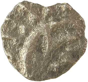 Frise continentale, sceat ou denier au porc-épic, s.d. (c.700-740) Rhin-Frise